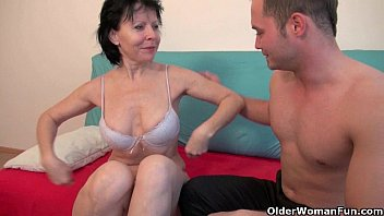 Sex with grandma is so much more fun 21 min