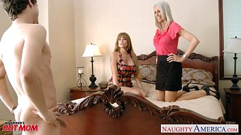Moms Darla Crane and Emma Starr gets fucked and facialized 8 min