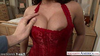 Horny housewife Alexa Pierce take cock in POV style
