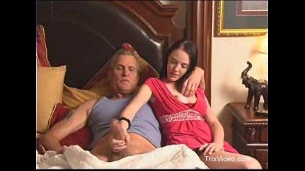 Daughter walks in on her Dad watching porn