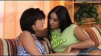 Strapon Lesbian Teens and GMILF Blowjob! 27 min