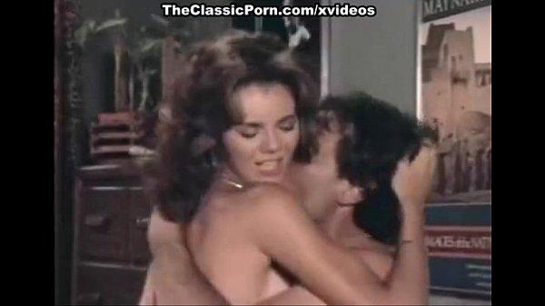 Angel, John Leslie in hot sex scene from the golden age of porn