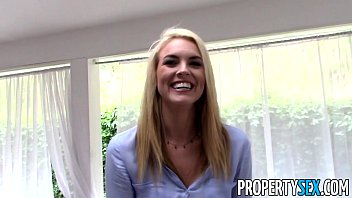 PropertySex - Tricking gorgeous real estate agent into homemade sex video
