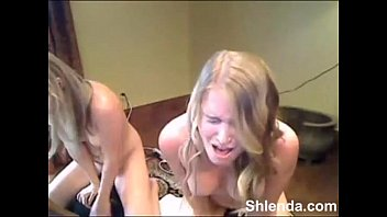 2 girls blond sybian orgasm webcam