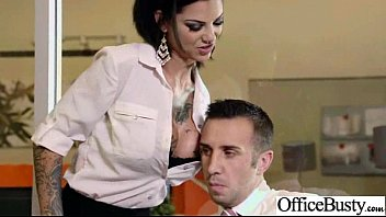 Big Tits Girl Love Exciting Hard Sex In Office movie-07