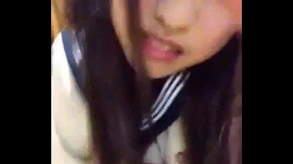 Cosplay japanese girl masturbation