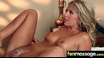 Husband Cheats with Masseuse in Room! 18