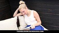 TeensLoveBlackCocks - Pierced Blonde (Tiffany Watson) Loves Big Black Cock