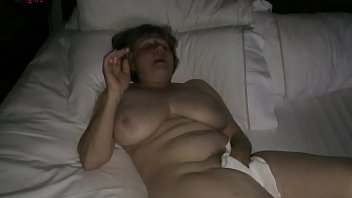 Mom masturbating to hotel porn by MarieRocks