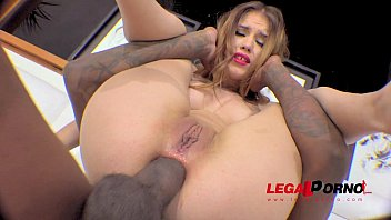Ginger Fox ass fucked by BBC (interracial anal) RS168
