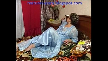 Russian chubby mature get anal