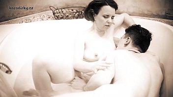 Crazy retro porn with old mummy