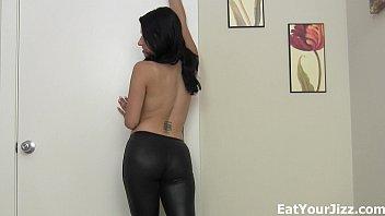 Kate England cum eating training