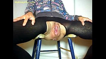 MYKINKYFLIX.COM - Old Granny Gets Fist Fucked In Gaping Cunt