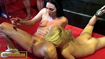 Threesome with hot babes in public squirt Pamela Sanchez and Nora Barcelona - Onlyfans.com/pamelasanchez
