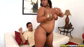 Dana is a Hot ebony chick with a tight ass in Beg For Booty by RoundAndBrown