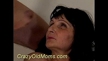 Crazy old mom pounded raw sex