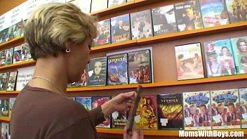 Grandma Miluska Fucking A Young Video Store Clerk 24 min
