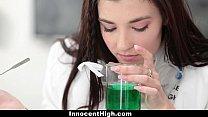 InnocentHigh - Hot Girl (Jenna Reid) Fucked In Chemistry Lab by Teacher