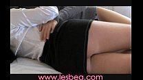 Lesbea Teen wants lover from behind