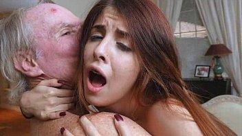 Teens Gigi And Sally Sharing Huge Facial Load From Old Man
