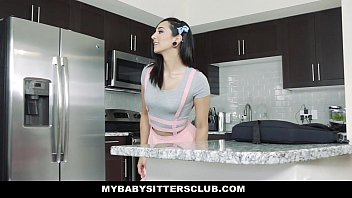 MyBabySittersClub - Teen BabySitter (MaliNa Mars) Fucked By Colossal Cock