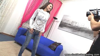 DOUBLEVIEWCASTING.COM - STASY'S GUY BORES HER HOLE