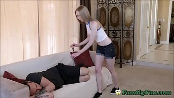 Naughty Sister Feels Brothers Cock Inside Her