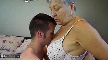 AGEDLOVE Granny Savana fucked with really hard stick 8 min