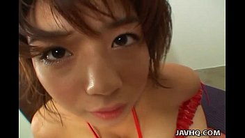 Kinky Mai Haruna tit job and foot job! 8 min