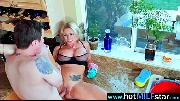 Mature Lady (briana banks) In Hard Action Tape On Huge Dick Stud movie-12