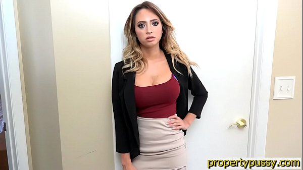 Huge boobs real estate agent fucks the house inspector 7 min