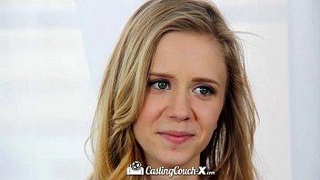 CastingCouch-X - Watch Rachel James first porn audition
