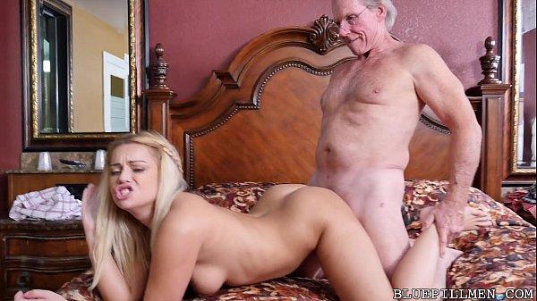 Sexy 18 Year Old Fucks 78 Year Old Grandpa