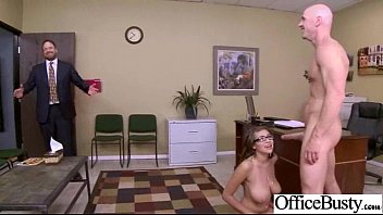 Hardcore Sex In Office With Hot Lovely Busty Girl (cassidy banks) video-11