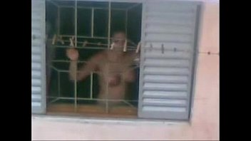neighbour aunty nude working in kitched