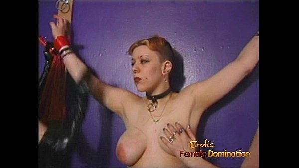 Kinky BDSM lesbian threesome featuring latex-clad and horny sex bombs