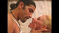 A sexy blonde anal banged by an arabian boy