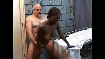 Old Perverted Grandpa Fucks Black Teen Girl
