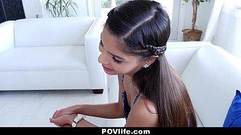 POVLIFE - Brace Faced Latina (Katya Rodriguez) Fucked By Nerd