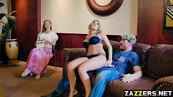 Kayla Kayden ride her pussy on top of Charles Dera