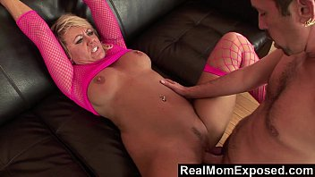 RealMomExposed - She's ravenous for a load and he's happy to deliver
