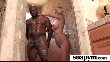 Sisters Friend Gives Him a Soapy Massage 1