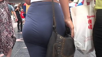 Candid Juicy White Fat Ass In Dress