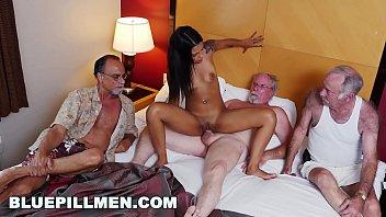 Staycation with a Latin Hottie Named Nikki Kay on BluePillMen (bpm15078)