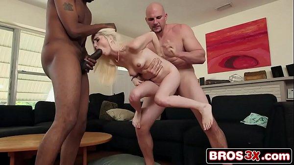 2 Black Monster Cocks Vs. Tiny Teen Spinner Piper Perri