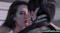 Mean Lez Girl (Katrina Jade & Leigh Raven) Punish With Sex Toys A Cute Hot Sexy Girl vid-25