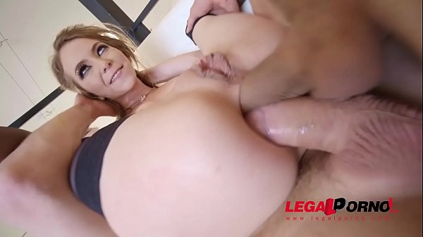 Exxxtra Goregeous Angel Smalls folded in half, c. and DP'ed!