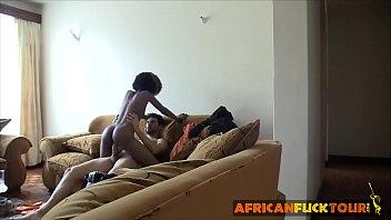 Fucking My African Girlfriend On Hidden Camera