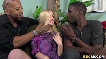 Cute Abigaile Johnson Gets Gangbanged by BBCs